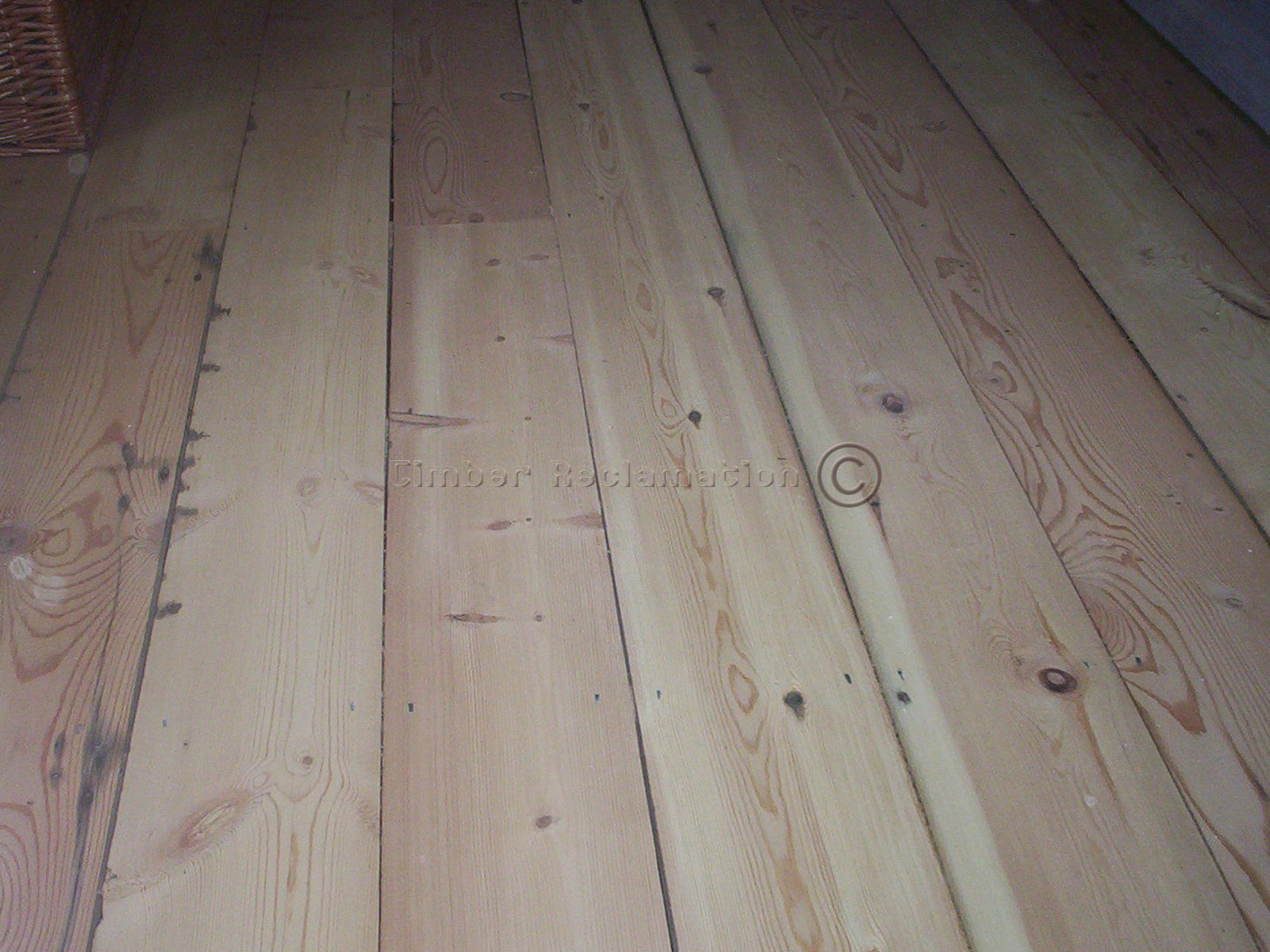 Using Pine Boards As Flooring ~ Reclaimed pine flooring