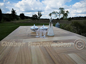 Bespoke Tables from Reclaimed Timber