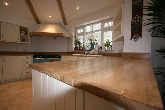 Bespoke Kitchen From Reclaimed Timber